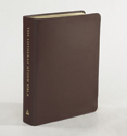 The Lutheran Study Bible - Sangria Genuine Leather