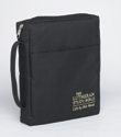 The Lutheran Study Bible Cover - Black - Larger Print