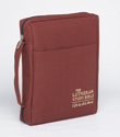 The Lutheran Study Bible Cover - Sangria - Larger Print