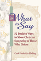 What to Say (ebook Edition)
