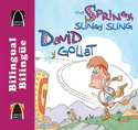 Libros Arco bilingües: David y Goliat (Bilingual Arch Books: The Springy, Slingy Sling)