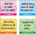 Faith Verses Stickers