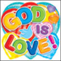 God Is Love Two-Sided Decoration