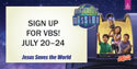 Indoor/Outdoor Banner Numbers - VBS 2018