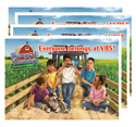 Round 'em Up Postcards (Pack of 24) - VBS 2016