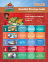 Bountiful Blessings Snack Guide - VBS 2016