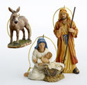 Holy Family Ornament (Set of 3)