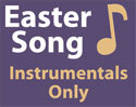 A Living Hope Easter Song Recorded Instrumentals Only MP3 (Downloadable)