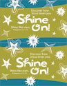Shine On! Postcards: 2 per sheet (Downloadable)
