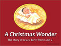 A Christmas Wonder Children's Message PowerPoint Visuals (Downloadable)