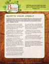 Blessed to Be a Blessing Devotion Bulletin Insert for Confirmands