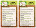 "Blessed to Be a Blessing ""10 Ways to Grow Your Faith"" Bulletin Insert"