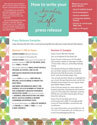 A Chocolate Life Press Release (Downloadable)