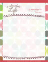 A Chocolate Life Letterhead (Downloadable)