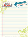 Teach Me Your Truth Letterhead (Downloadable)