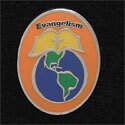 Evangelism Pins (Pack of 12)