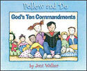God's Ten Commandments - Follow and Do