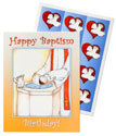 One in Christ - Kindergarten Baptism Birthday Cards and Stickers (Pack of 24)