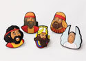 Three Men in the Fiery Furnace Finger Puppet Set