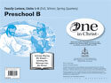 One in Christ - Preschool B Family Letter Packet (Units 1-9)