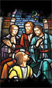 Stained Glass Series Banner: Disciples