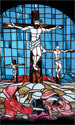 Stained Glass Series Banner: Sacrifice