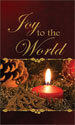 Christmas Banner: Joy to the World Candle, Candle