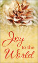 Christmas Banner: Joy to the World - Festive