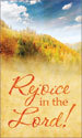 Harvest Banner: Rejoice in the Lord