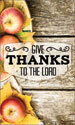 Harvest Banner: Give Thanks Fruit