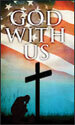Patriotic Banner: God with Us