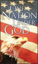 Patriotic Banner: One Nation Under God