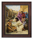 Jesus Heals the Blind Man (Bladholm)