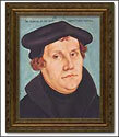 "Framed Print - Martin Luther, 14"" x 18"""