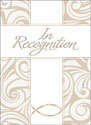 Recognition Certificate: In Recognition  (Pack of 6)