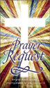 Communication Card: Prayer Request (Pack of 50)