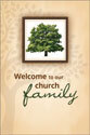 Welcome Folder: Welcome to Our Church Family (Pack of 12)