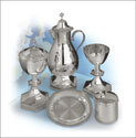 The Creator's Star Silver Plate Chalice with Pouring Spout