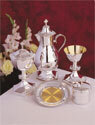 The Creator's Star Silver Plate Chalice with Pouring Spout GL