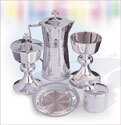 The Cup of The New Testament Silver Plate Flagon