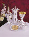 The Cup of The New Testament Silver Plate Host Box GL