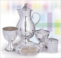 The Cup Silver Plate Flagon