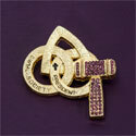 Pin - Society President Gold Tone