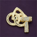 Pin - District President Gold Tone