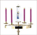 Bright Ring Advent Wreath - Head Only