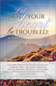 Standard Funeral Bulletin: Let Not Your Heart Be Troubled