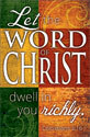 Standard Scripture Block Bulletin: Let the Word of Christ...