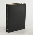 The Lutheran Study Bible - Black Genuine Leather
