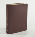 The Lutheran Study Bible - Larger Print - Sangria Genuine Leather