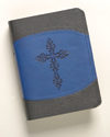 The Lutheran Study Bible - Compact DuoTone Royal Blue/Black